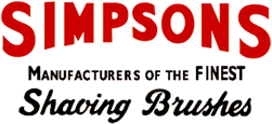 Simpsons - Manufacturers of the finest shaving brushes