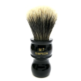 M7 Manchurian Badger faux Ebony