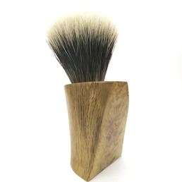 #3/100 Limited Edition Hand Carved Calabrian Oak Wood Manchurian Badger