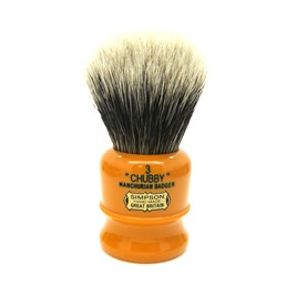 Chubby 3 Manchurian Badger faux Butterscotch