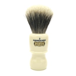 BLACK FRIDAY Captain 2 Manchurian Badger faux Ivory