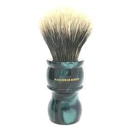 M7 Manchurian Badger faux Emerald