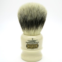 Chubby 2 Synthetic Bristle faux Ivory