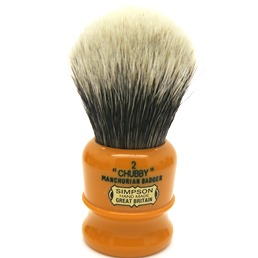 Chubby 2 Manchurian Badger faux Butterscotch