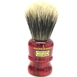 Duke 3 Manchurian Badger faux Ruby