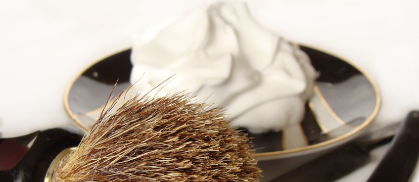 What should I do if my shaving brush starts to shed bristles?