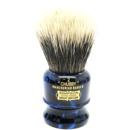 BLACK FRIDAY SALE Chubby 2 Manchurian Badger faux Sapphire