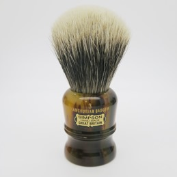 SALE Duke 3 Manchurian Badger faux Tortoiseshell