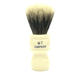 BLACK FRIDAY M7 Manchurian Badger faux Ivory