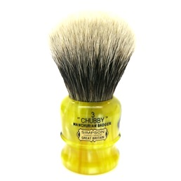 Chubby 3 Manchurian Badger Medallion Yellow