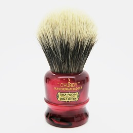 Chubby 3 Manchurian Badger faux Ruby