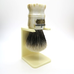 Shaving Brush Dripstand faux Ivory