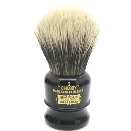 "Chubby 2 Manchurian Badger faux Ebony ""The Dark Knight"""