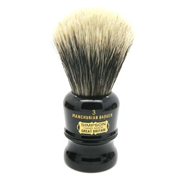 Duke 3 Manchurian Badger faux Ebony