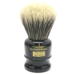 SALE Chubby 3 Manchurian Badger faux Ebony