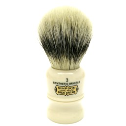 Duke 3 Synthetic Bristle faux Ivory
