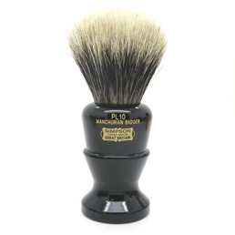 Polo 10 Manchurian Badger faux Ebony