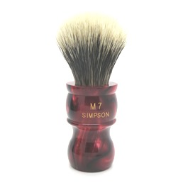 M7 Manchurian Badger faux Ruby