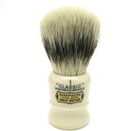 Classic 1 Synthetic Bristle faux Ivory