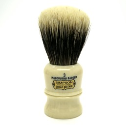 BLACK FRIDAY Duke 3 Manchurian Badger faux Ivory