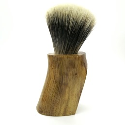 #5/100 Limited Edition Hand Carved Calabrian Oak Wood Manchurian Badger