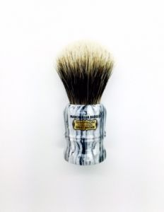 SALE Duke 3 Manchurian Badger faux Grey Marble